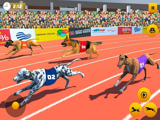 Dog Race Sim 2020: Dog Racing Games