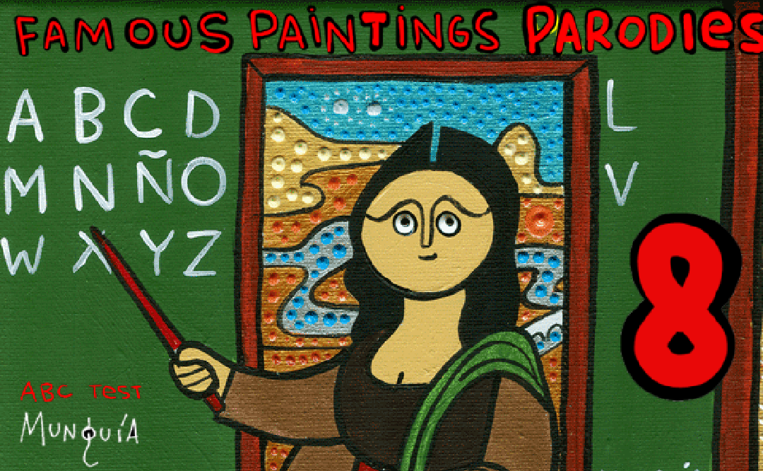 Famous Paintings Parodies 8