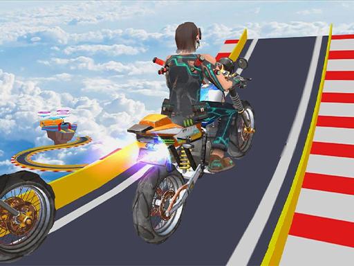 Mega Ramp Stunt Moto