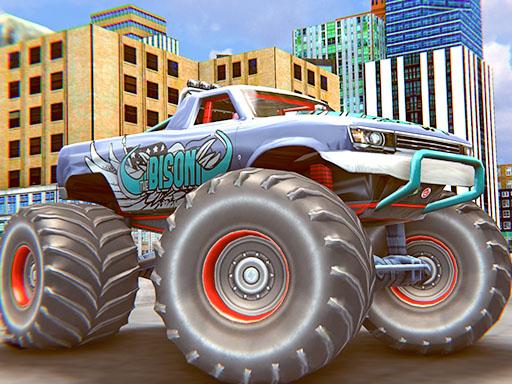 Monster Truck Stunt Driving Simulation