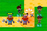 Ninjas vs Pirates 3