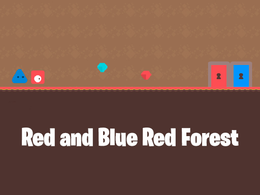 Red and Blue Red Forest
