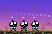 Silly Bombs and Space Invaders
