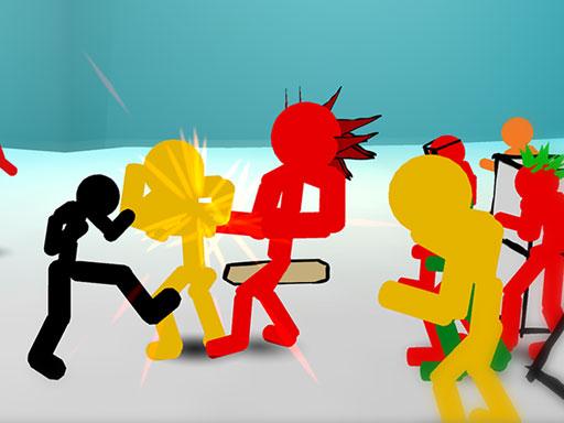 Stickman Street Fighting 3D