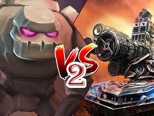 Tank VS Golems 2