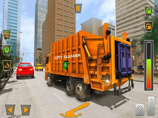 US City Garbage Cleaner: Trash Truck 2020